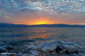 The Dead Sea, what is now Israel. Some experts have stated the minerals and resources held in and around The Dead Sea will be VITAL to global food supply and agriculture industry in the 21st Century. ''whoever controls the Dead Sea, controls the world''