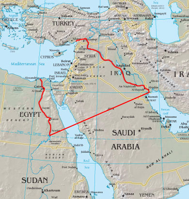 The Zionists plan for a 'Greater Israel'... is this based upon an ancient Biblical belief... or the knowledge of the vast and extraordinary mineral wealth in the area?