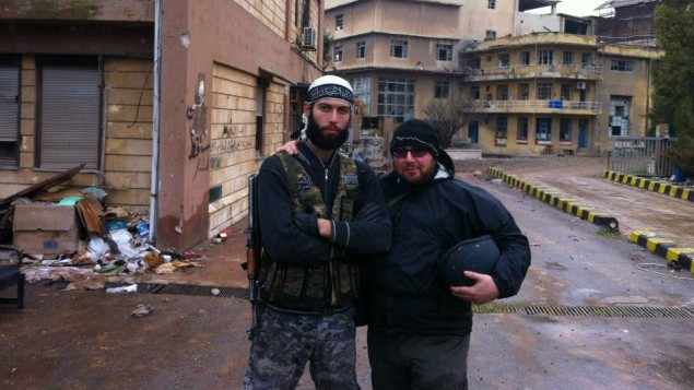 Suspected Mossad Operative, Steve Sotloff, in Syria (2012)