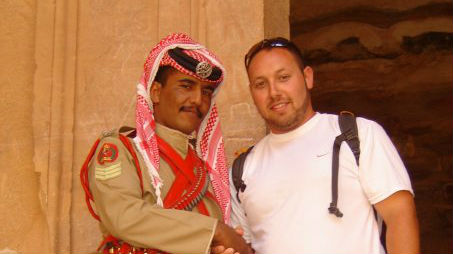 Suspected Mossad Operative, Steve Sotloff, in Yemen (2009)